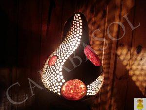 calabasol gourdlamp